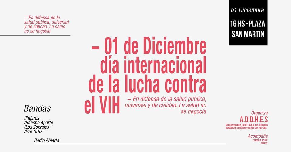 01 de Diciembre - Día Internacional de la lucha contra el VIH