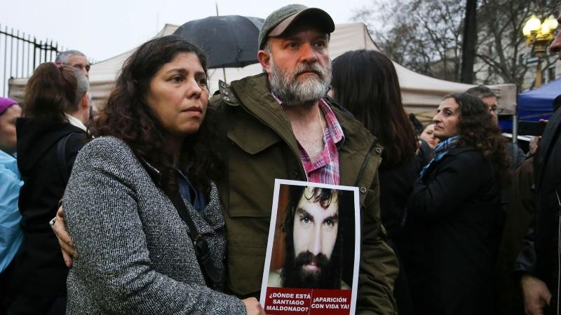 El juez federal Gustavo Lleral cerró la investigación por la muerte de Santiago Maldonado