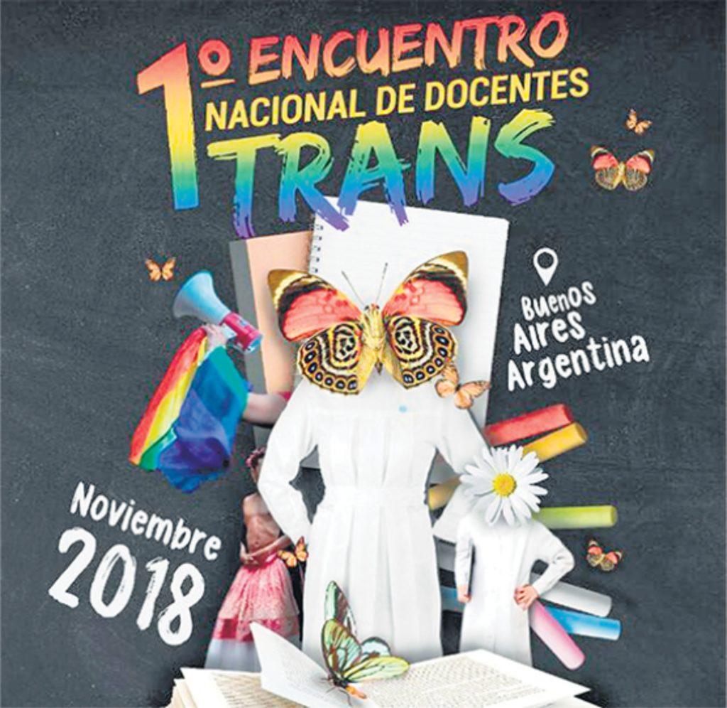Primero encuentro nacional de docentes trans