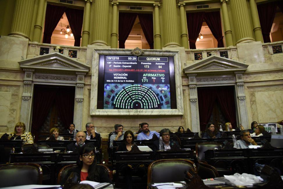 Diputados aprobó la Ley Micaela