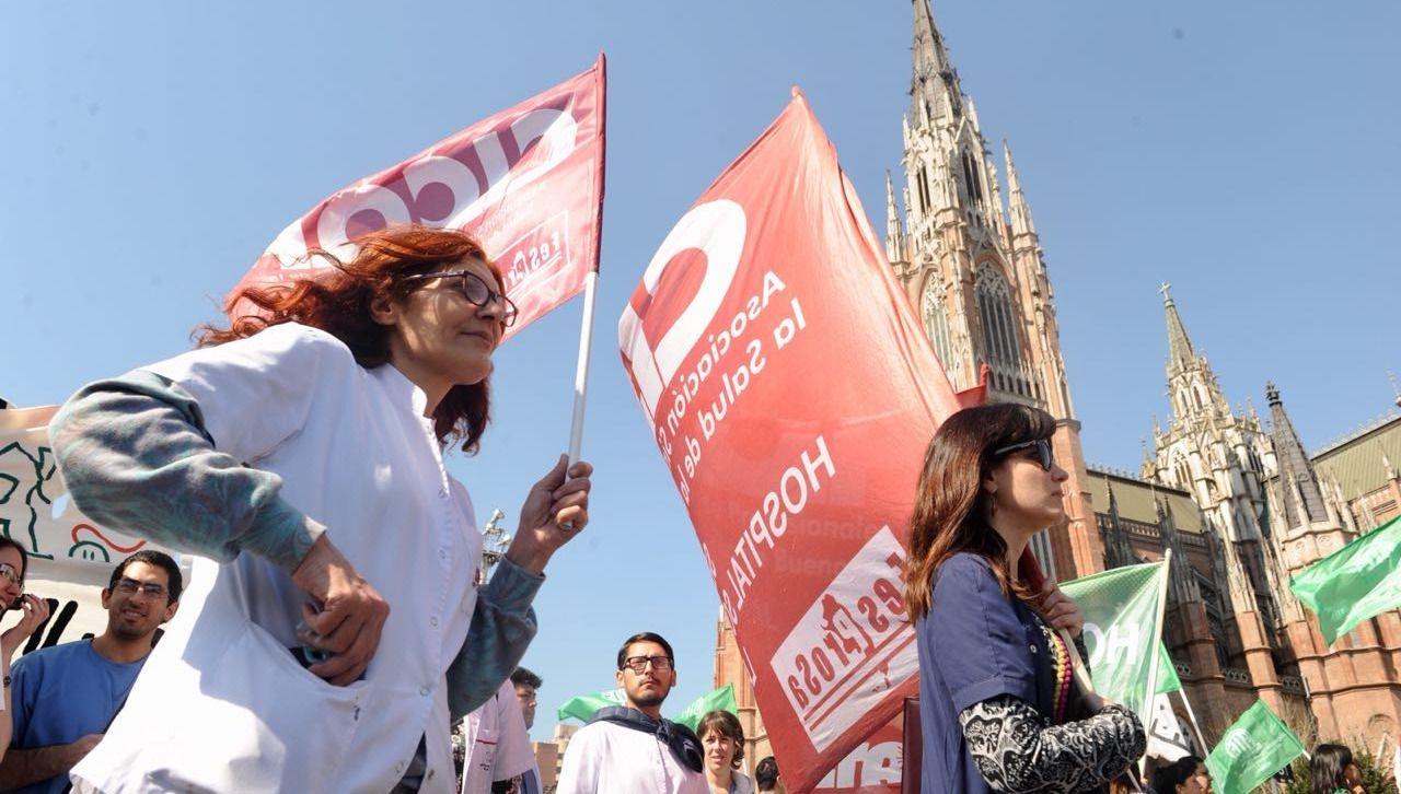 Movilización de CICOP - Rechazo paritaria salarial